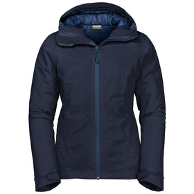 Jack Wolfskin Argon Storm Jas Dames, midnight blue